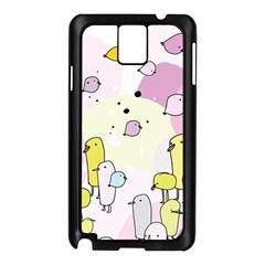 Cut Bird Samsung Galaxy Note 3 N9005 Case (Black)