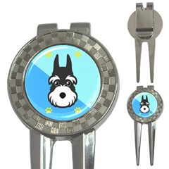 Face Dog 3-in-1 Golf Divots
