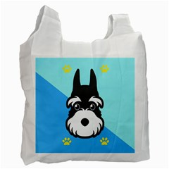 Face Dog Recycle Bag (One Side)