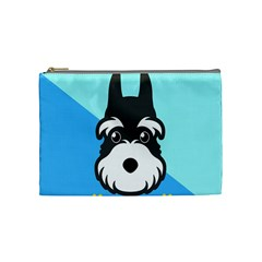 Face Dog Cosmetic Bag (Medium)