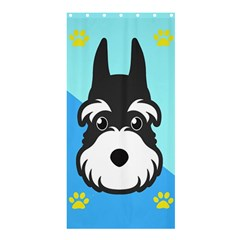 Face Dog Shower Curtain 36  x 72  (Stall)