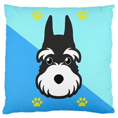 Face Dog Large Cushion Case (Two Sides)