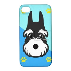 Face Dog Apple iPhone 4/4S Hardshell Case with Stand