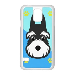 Face Dog Samsung Galaxy S5 Case (White)