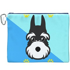 Face Dog Canvas Cosmetic Bag (XXXL)