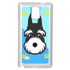 Face Dog Samsung Galaxy Note 4 Case (White)