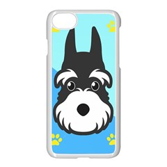 Face Dog Apple Iphone 7 Seamless Case (white)