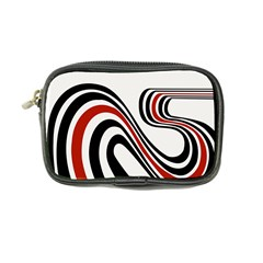 Curving, White Background Coin Purse