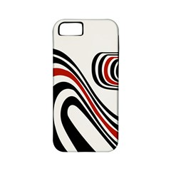 Curving, White Background Apple iPhone 5 Classic Hardshell Case (PC+Silicone)