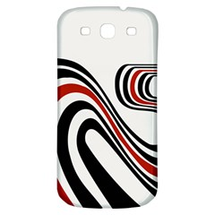 Curving, White Background Samsung Galaxy S3 S III Classic Hardshell Back Case