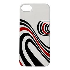Curving, White Background Apple iPhone 5S/ SE Hardshell Case