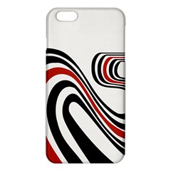 Curving, White Background iPhone 6 Plus/6S Plus TPU Case