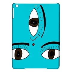 Eyes Three Blue iPad Air Hardshell Cases