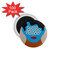Face Eye Human 1.75  Magnets (100 pack)