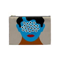 Face Eye Human Cosmetic Bag (Medium)