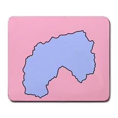 Girls Pink Large Mousepads