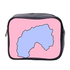 Girls Pink Mini Toiletries Bag 2-Side