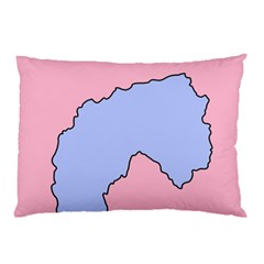 Girls Pink Pillow Case (Two Sides)