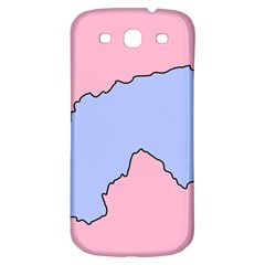 Girls Pink Samsung Galaxy S3 S III Classic Hardshell Back Case