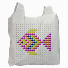Fish Cute Recycle Bag (One Side)