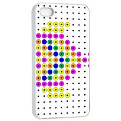 Fish Cute Apple iPhone 4/4s Seamless Case (White)