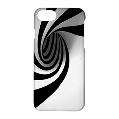 Hole Black White Apple Iphone 7 Hardshell Case