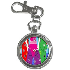 Initial Thumbnails Key Chain Watches