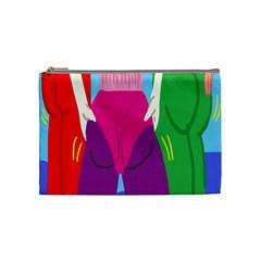 Initial Thumbnails Cosmetic Bag (Medium)