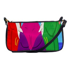 Initial Thumbnails Shoulder Clutch Bags