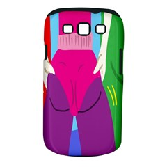 Initial Thumbnails Samsung Galaxy S III Classic Hardshell Case (PC+Silicone)