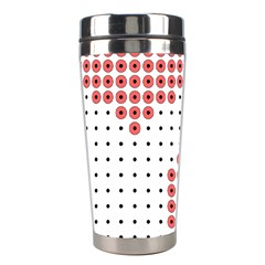 Heart Love Valentine Day Pink Stainless Steel Travel Tumblers