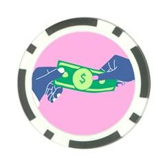 Money Poker Chip Card Guards