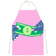 Money Full Print Aprons