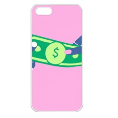 Money Apple iPhone 5 Seamless Case (White)