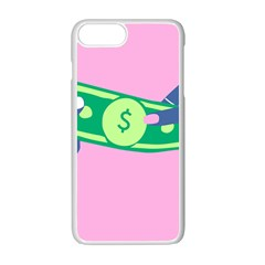 Money Apple Iphone 7 Plus White Seamless Case