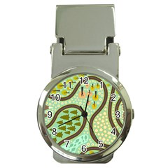 Hilly Roads Money Clip Watches