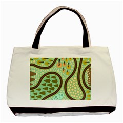 Hilly Roads Basic Tote Bag (Two Sides)