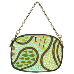Hilly Roads Chain Purses (One Side)