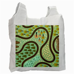 Hilly Roads Recycle Bag (One Side)