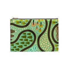 Hilly Roads Cosmetic Bag (Medium)