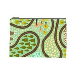 Hilly Roads Cosmetic Bag (Large)