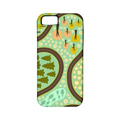 Hilly Roads Apple iPhone 5 Classic Hardshell Case (PC+Silicone)
