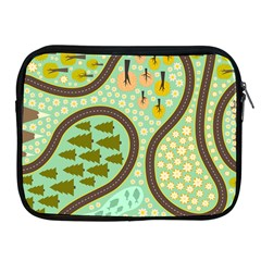 Hilly Roads Apple iPad 2/3/4 Zipper Cases
