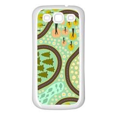 Hilly Roads Samsung Galaxy S3 Back Case (White)