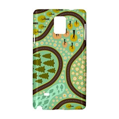 Hilly Roads Samsung Galaxy Note 4 Hardshell Case