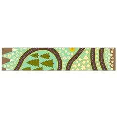 Hilly Roads Flano Scarf (Small)
