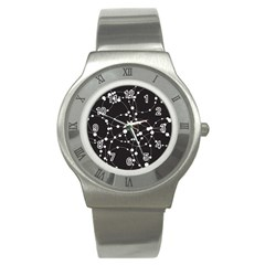 Network Stainless Steel Watch