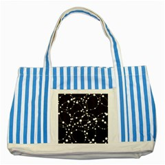 Network Striped Blue Tote Bag