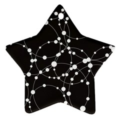 Network Star Ornament (Two Sides)