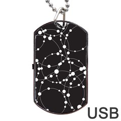 Network Dog Tag USB Flash (Two Sides)
